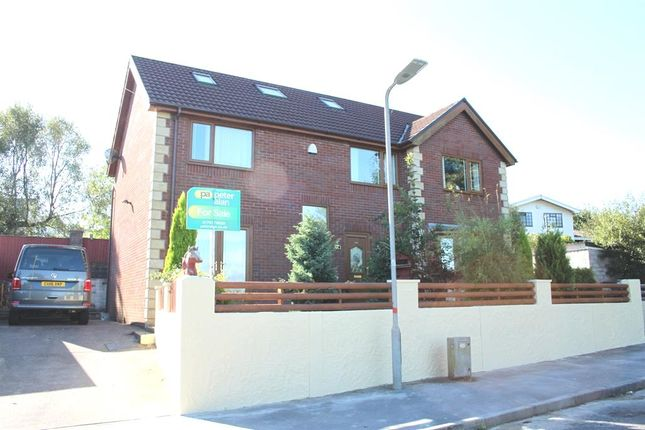 Thumbnail Detached house for sale in Heol Fach, Llangyfelach, Swansea