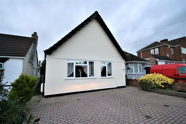 Thumbnail Detached bungalow for sale in Avelon Road, Collier Row, Romford