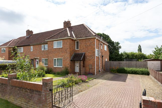 Thumbnail End terrace house for sale in Calf Close, Haxby, York