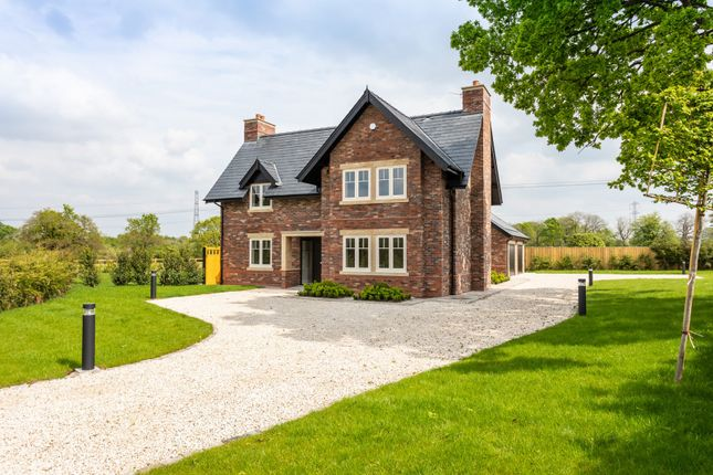 Thumbnail Detached house for sale in Newton Hall Lane, Mobberley, Knutsford