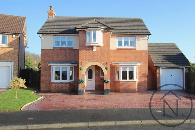 Thumbnail Detached house for sale in Karles Close, Newton Aycliffe