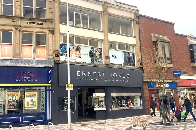 Thumbnail Retail premises to let in 4/6 Cheapside, Barnsley, South Yorkshire