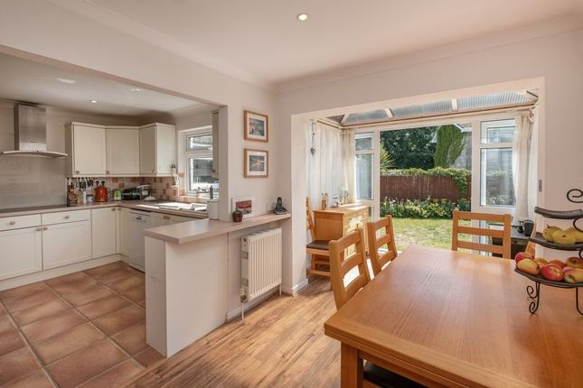 Thumbnail Detached house for sale in Wykeham Close, Binstead, Ryde