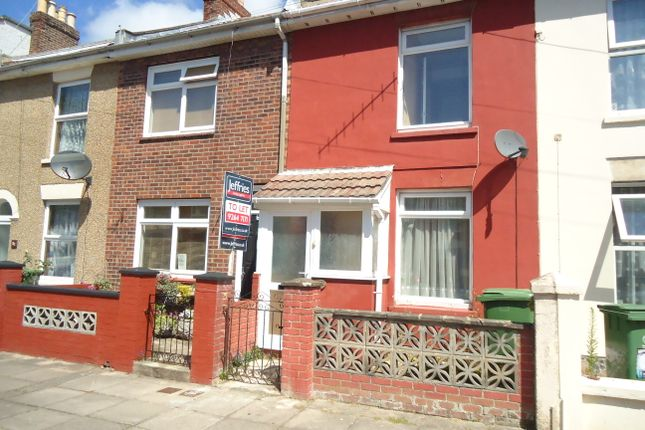 Thumbnail Terraced house to rent in Winstanley Road, Portsmouth