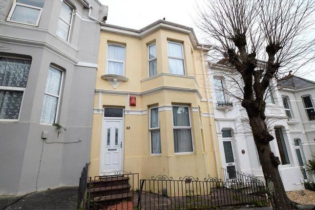 Thumbnail Terraced house for sale in Seymour Avenue, Plymouth, Devon