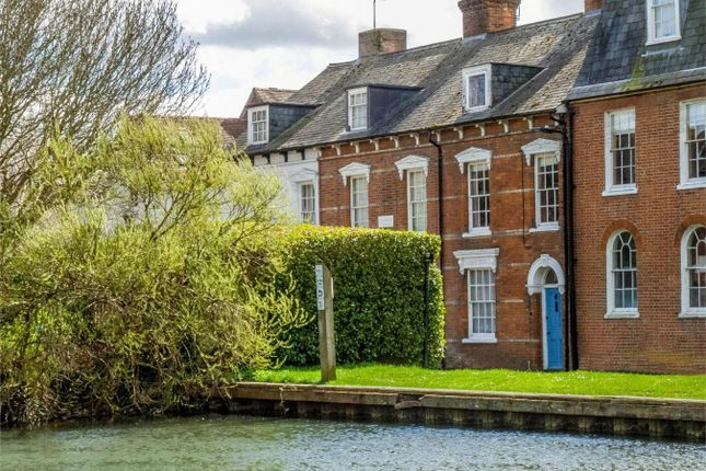 Thumbnail Town house for sale in West Mills Yard, Kennet Road, Newbury