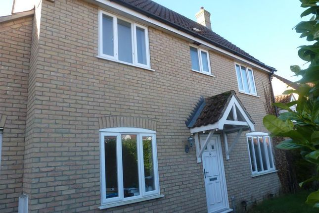 Thumbnail Detached house to rent in Ventura Close, Methwold, Thetford
