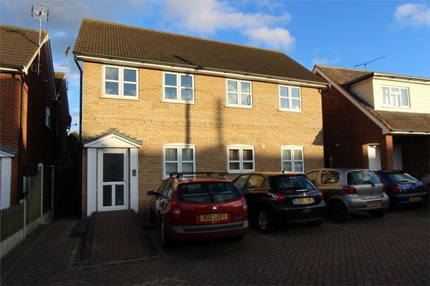 Thumbnail Flat for sale in Flat 7, Wells Court, 234 Ferry Road, Hullbridge, Hockley, Essex