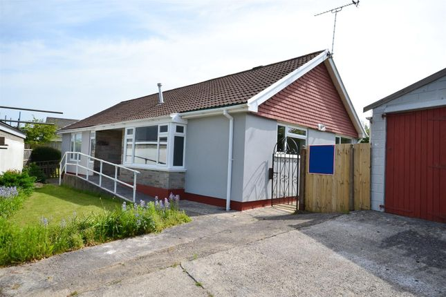 Thumbnail Detached bungalow for sale in Croeso Road, Pembroke