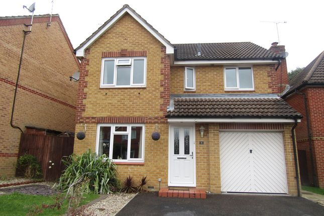 Thumbnail Detached house for sale in Greyhound Close, Hedge End, Southampton