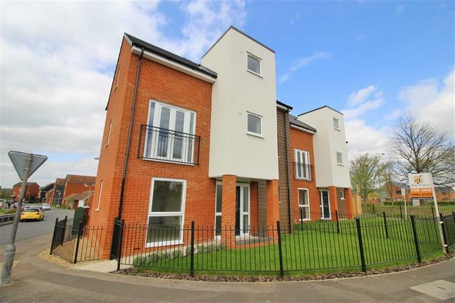 Thumbnail Detached house for sale in Walker Avenue, Wolverton Mill, Milton Keynes