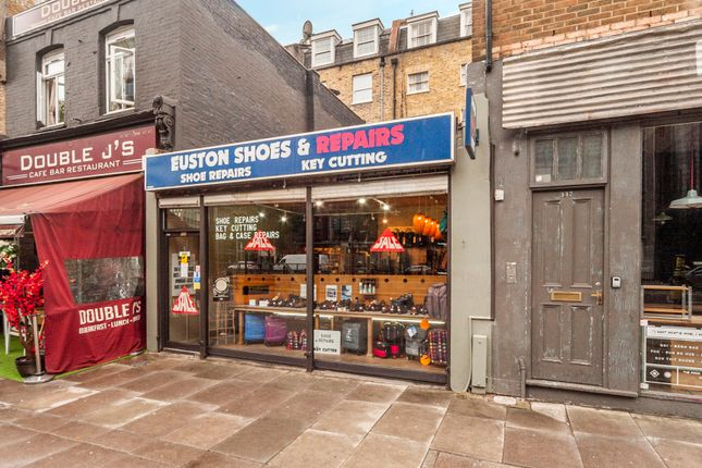 Thumbnail Retail premises for sale in Euston Road, London