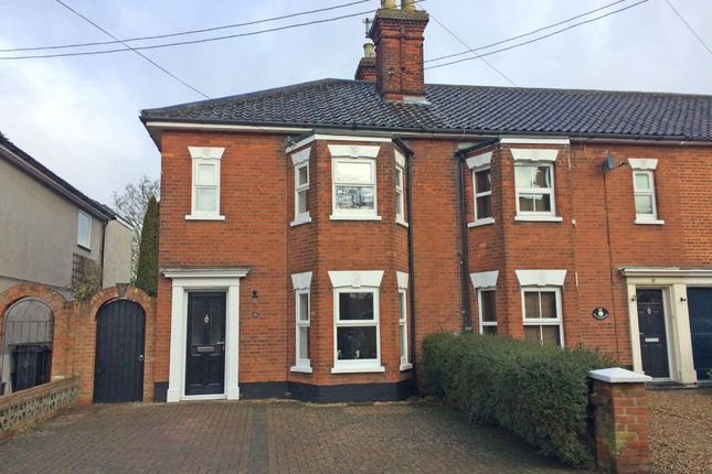 Thumbnail Semi-detached house for sale in Sunnyside, Diss