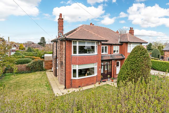 Thumbnail Semi-detached house for sale in Grappenhall Road, Stockton Heath, Warrington