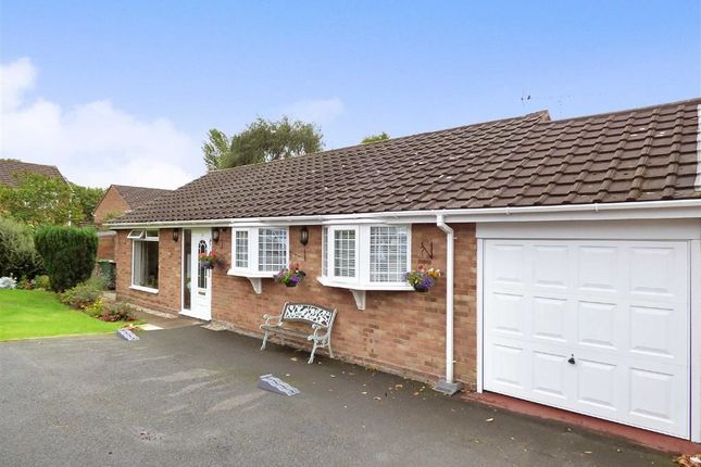 Thumbnail Detached bungalow for sale in Larch Wood, Randlay, Telford, Shropshire