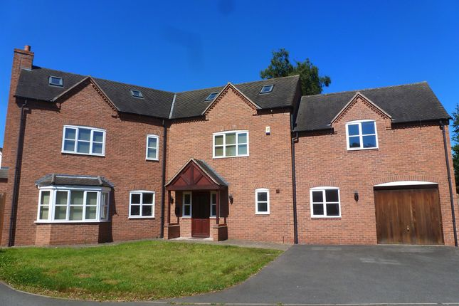 Thumbnail Detached house for sale in Longlands Lane, Findern, Derby