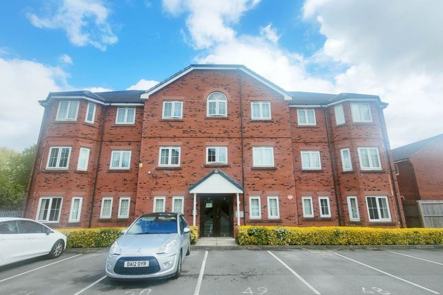 2 bed flat for sale in Harrison Close, Warrington WA1