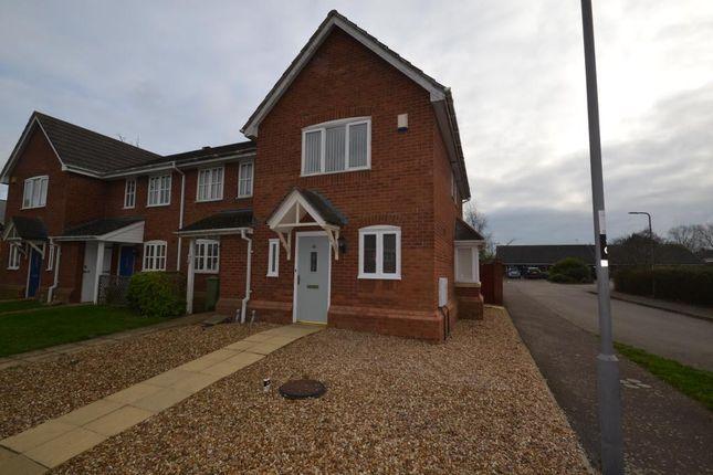 End terrace house in  Oriel Close  Wolverton  Milton Keynes  Buckinghamshire M Milton Keynes