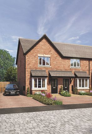 Thumbnail End terrace house for sale in Chelmsley Lane, Marston Green