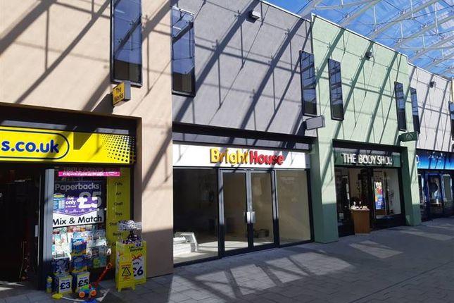 Retail premises to let in Market Walk, Newton Abbot