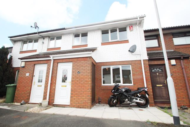 Thumbnail Terraced house for sale in Finch Close, Laira, Plymouth