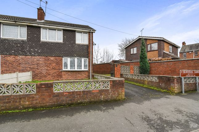 Thumbnail Semi-detached house for sale in Selborne Close, Walsall