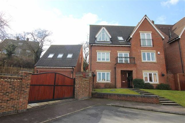 Thumbnail Detached house for sale in St Georges Close, Allestree, Derby