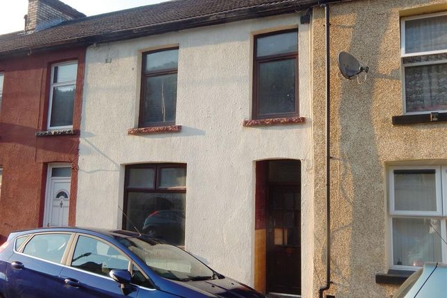 Thumbnail Terraced house for sale in Woodfield Terrace, Penrhiwceiber, Mountain Ash