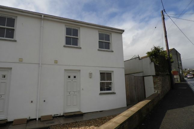 Thumbnail Semi-detached house to rent in Slades Road, St Austell, Cornwall