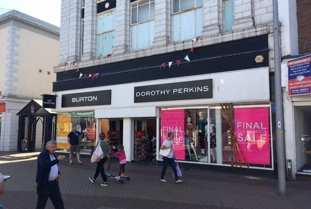 Thumbnail Retail premises for sale in 48-50 High Street, Rhyl, Denbighshire