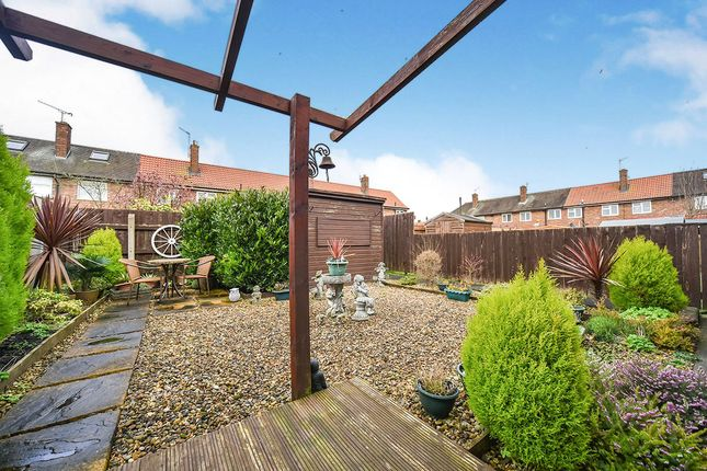 Rear Garden of Nestor Grove, Hull, East Yorkshire HU9