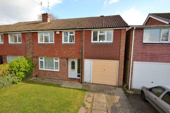 Thumbnail Semi-detached house for sale in Bradden Close, Kingsthorpe, Northampton