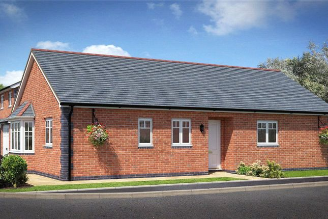 Thumbnail Bungalow for sale in Plot 10, Badgers Fields, Arddleen, Llanymynech, Powys