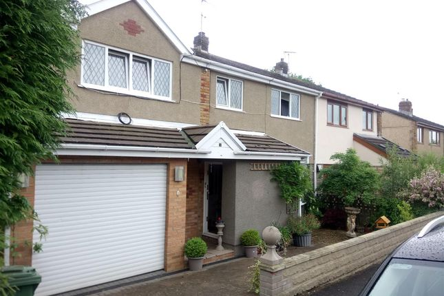 Thumbnail Semi-detached house to rent in St Anne's Drive, Crown Hill, Pontypridd