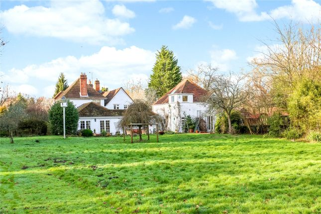 Thumbnail Detached house for sale in Lower Common, Eversley, Hook, Hampshire