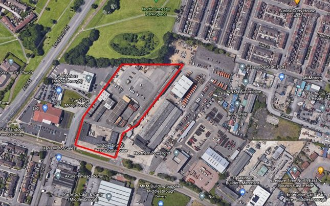 Thumbnail Industrial for sale in Cargo Fleet Lane, Middlesbrough