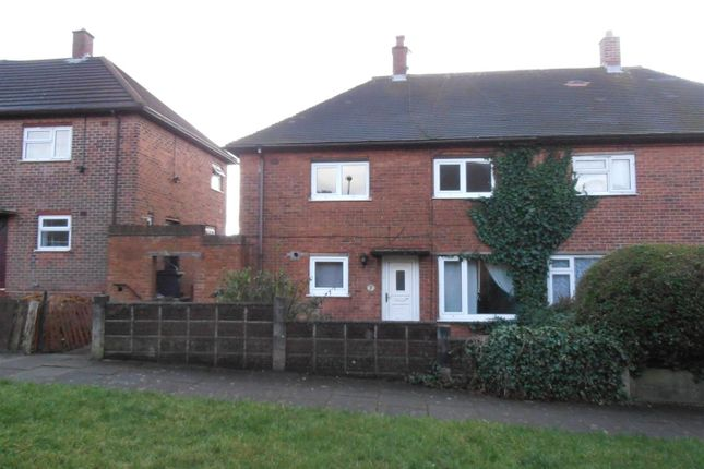 Thumbnail Semi-detached house for sale in Davy Close, Bucknall, Stoke-On-Trent