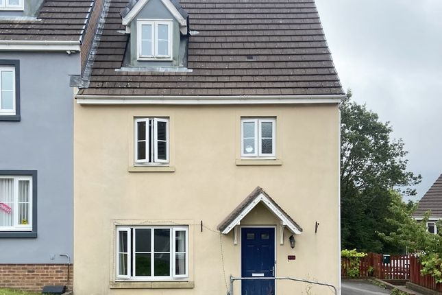 Thumbnail Semi-detached house for sale in Glas Y Gors, Aberdare, Mid Glamorgan