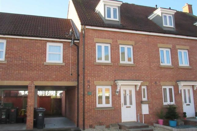 Thumbnail Town house for sale in Dorset Close, Highbridge, Somerset
