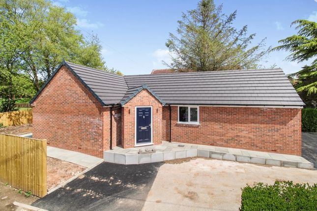 Thumbnail Detached bungalow for sale in Jennys Way, Beech Avenue, Cheddleton
