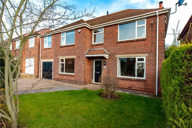 Thumbnail Detached house for sale in Park Avenue, Sprotbrough, Doncaster