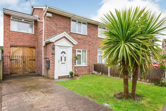 3 bed semi-detached house for sale in Canford Close, Crewe, Cheshire CW1