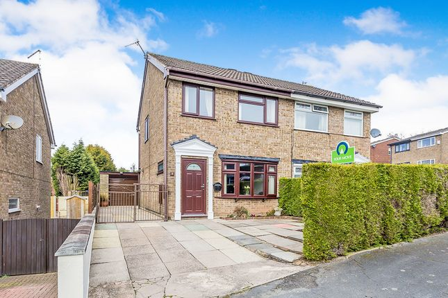 Thumbnail Semi-detached house for sale in Linacre Way, Parkhall, Stoke-On-Trent