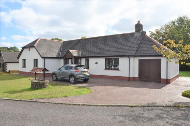 Thumbnail Detached bungalow for sale in Pentrecagal, Newcastle Emlyn
