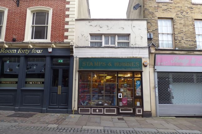 Thumbnail Retail premises for sale in High Street, Gravesend, Kent