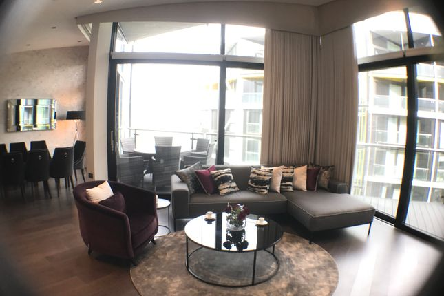 Thumbnail Flat to rent in Riverlight Four, Nine Elms, London