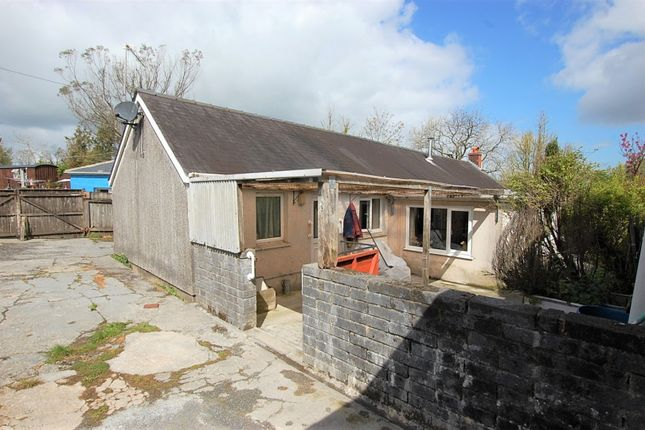 Thumbnail Detached bungalow for sale in Cwmbach, Whitland