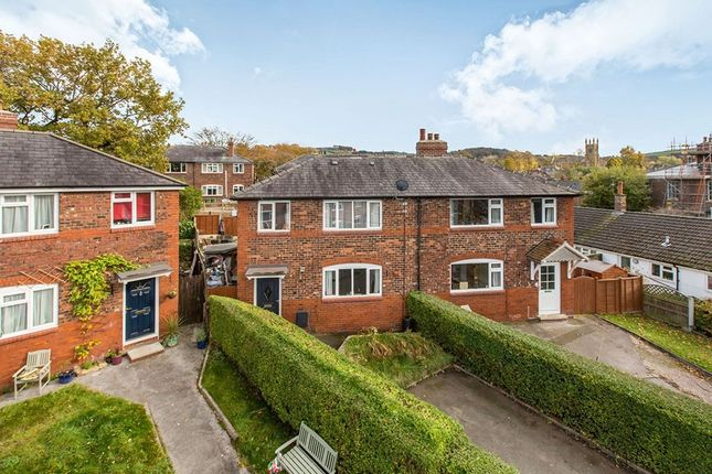 Thumbnail Semi-detached house for sale in Chadwick Terrace, Macclesfield