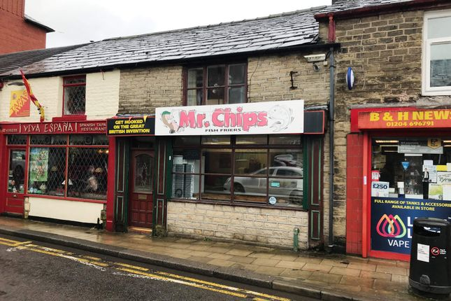 Thumbnail Restaurant/cafe for sale in Winter Hey Lane, Horwich, Bolton