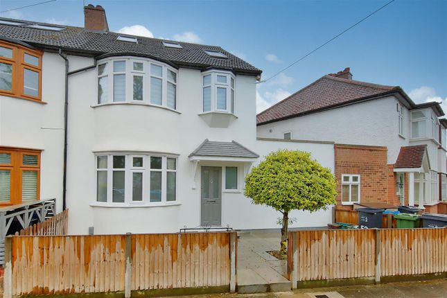 Thumbnail End terrace house for sale in Haslemere Road, Earlsfield, London